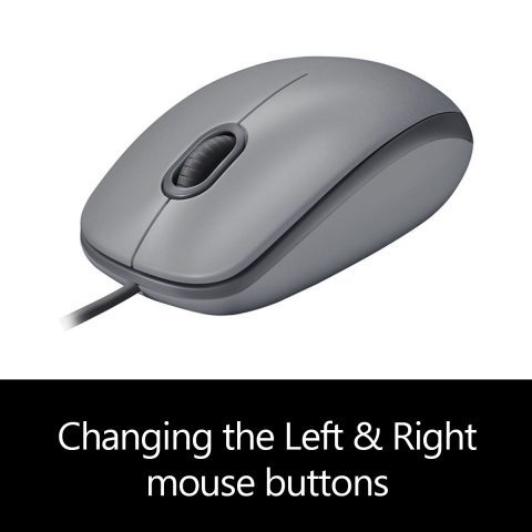Changing the Left & Right mouse buttons