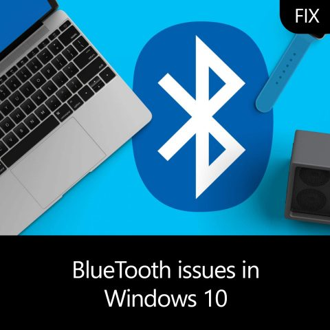 BlueTooth issues in Windows 10