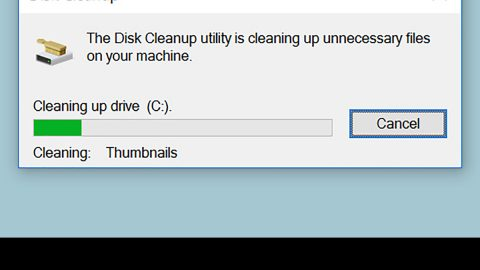 How to do Disk cleanup in Windows 10