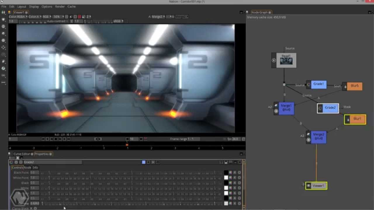 open source composition and effect application natron