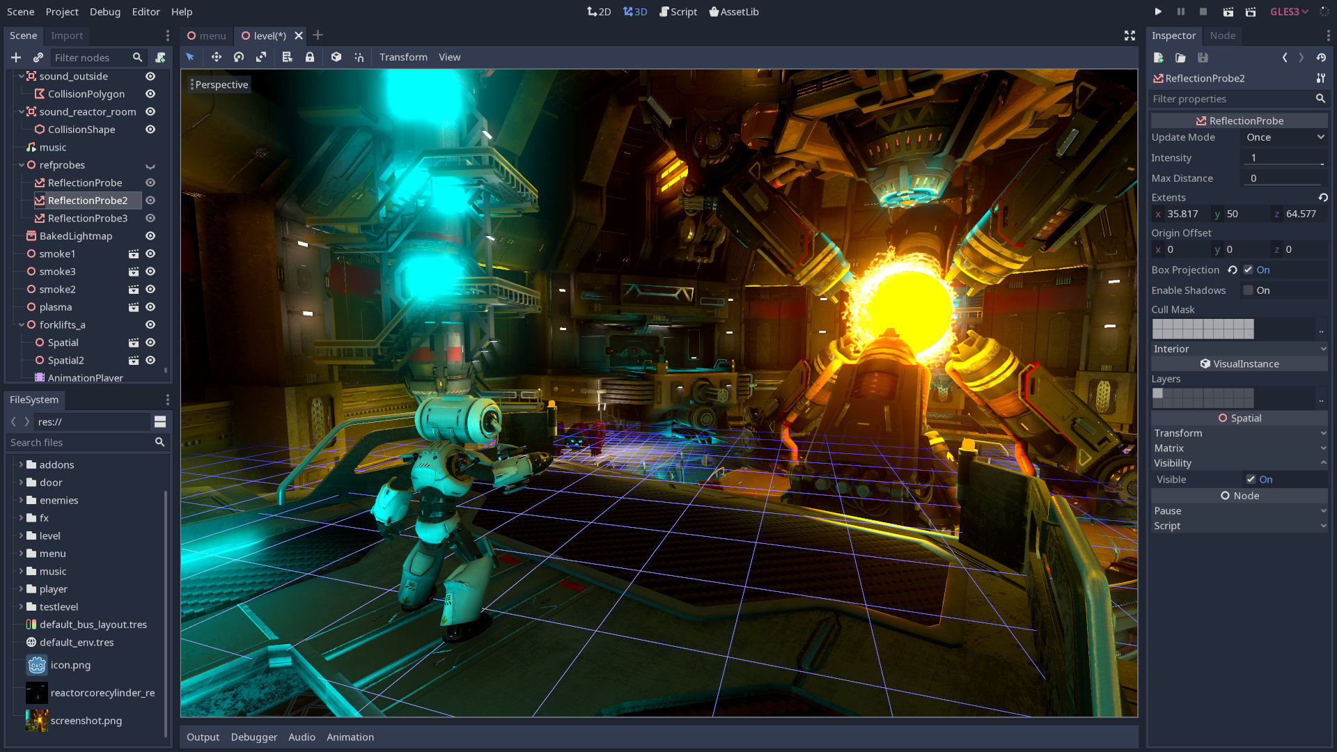 open source game engine godot