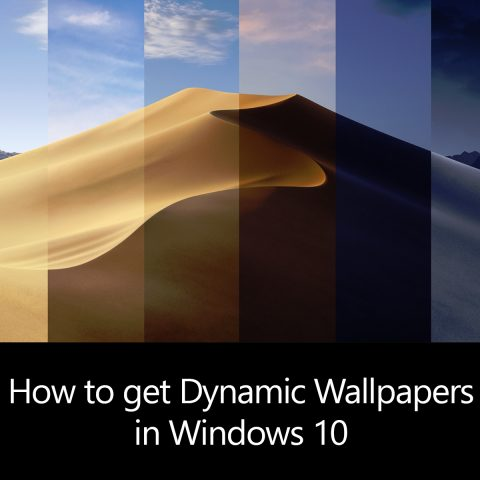 Dynamic Wallpapers