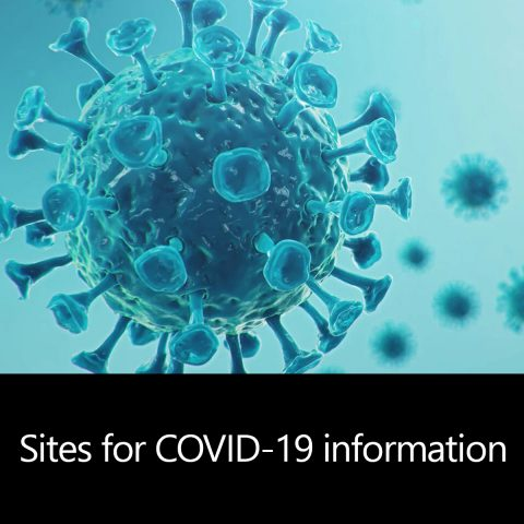 Sites for COVID-19 information