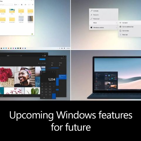 Windows features for future