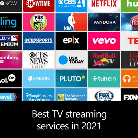 Best TV streaming services 2021