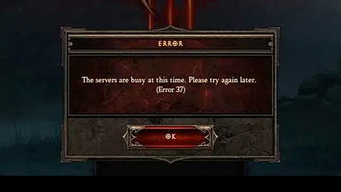 Diablo 3 lost connection to the game server