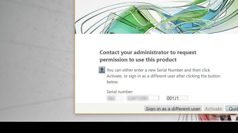 Network License NotAvailable15.570.0 Autodesk