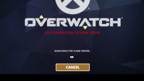Overwatch lost connection to the game server